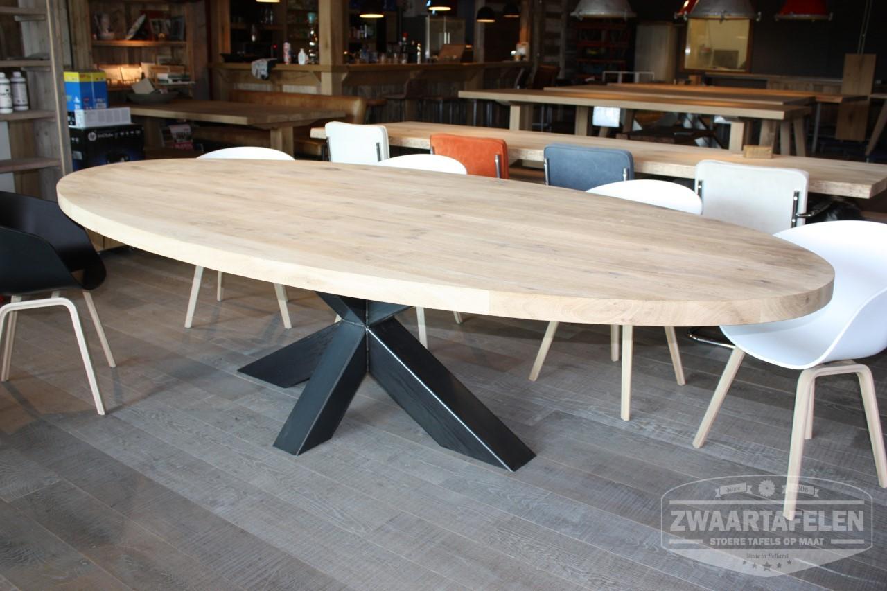Ovale houten tafel. affordable mooie ovale houten tafel with ovale