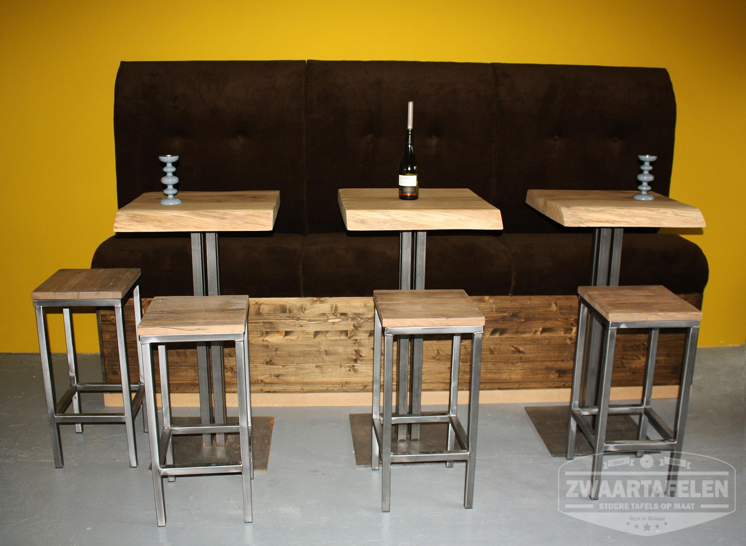 Eikenhouten robuuste meubels voor de horeca for Meubels horeca