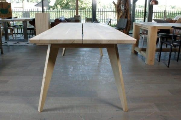 Retro Sixty massief eiken design tafel