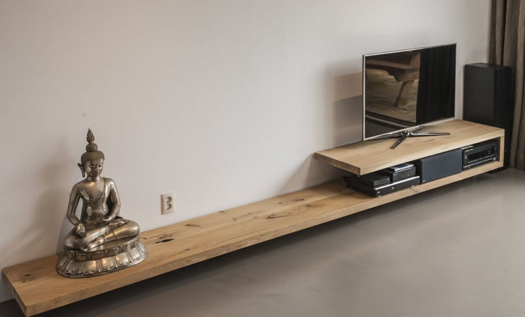 Picture idea 29 : Zelf te maken eiken badkamer meubels kasten ...