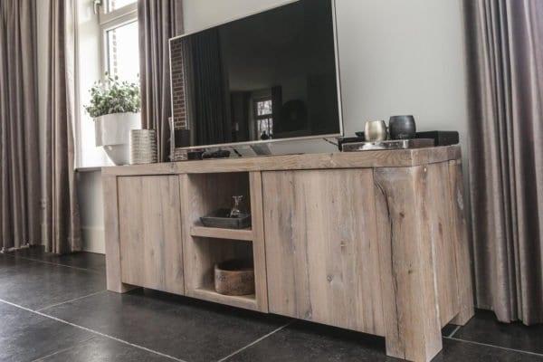 Massief eiken TV meubel BOB