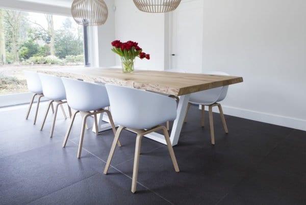 Grote Houten Tafels : Zwaartafelen stoere eiken tafels op maat