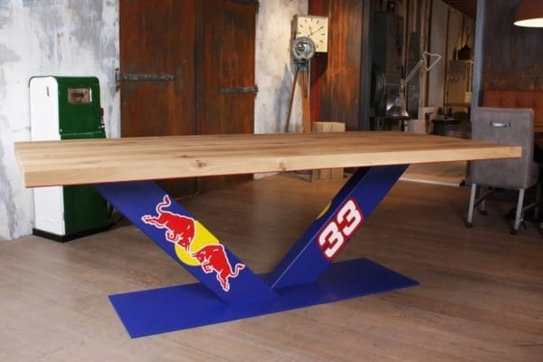 Red Bull geeft je tafels