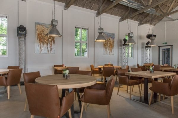 Restaurant tafels massief eiken