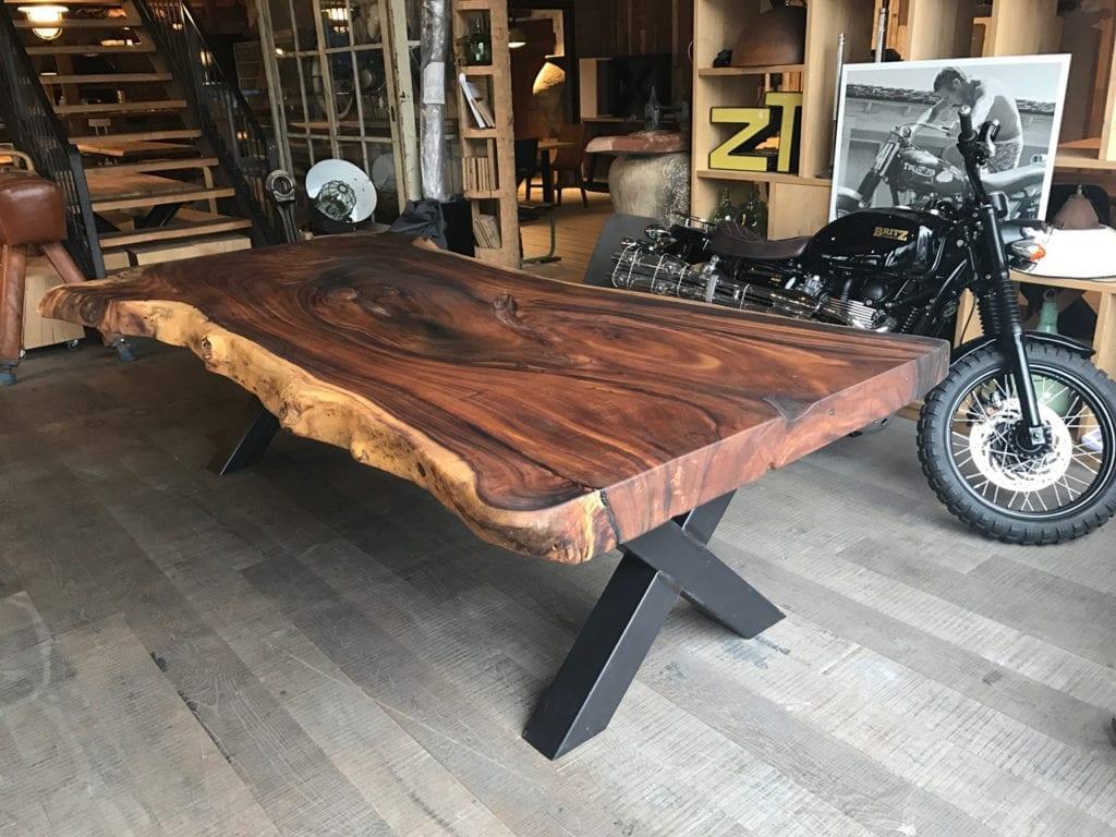 Boomstamtafel 3 Meter.Eettafel 3 Meter Zwaartafelen Made In Holland