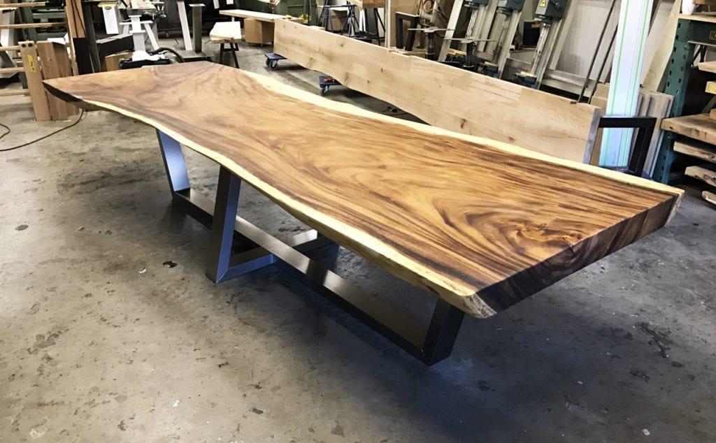 Eikenhouten Tafel 4 Meter.Lange Tafel Op Maat Zwaartafelen Made In Holland