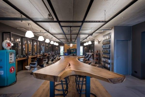 Massief suar houten tafel