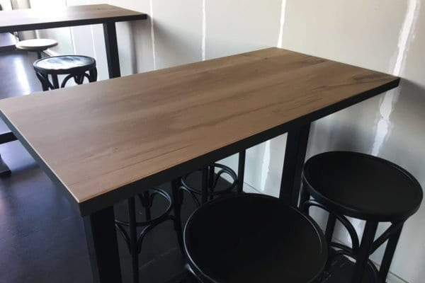 Massief eiken sta tafels