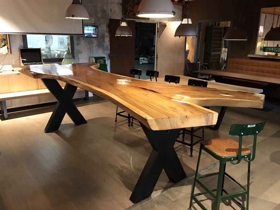 Eettafel Extra Lang.Lange Tafel Op Maat Zwaartafelen Made In Holland
