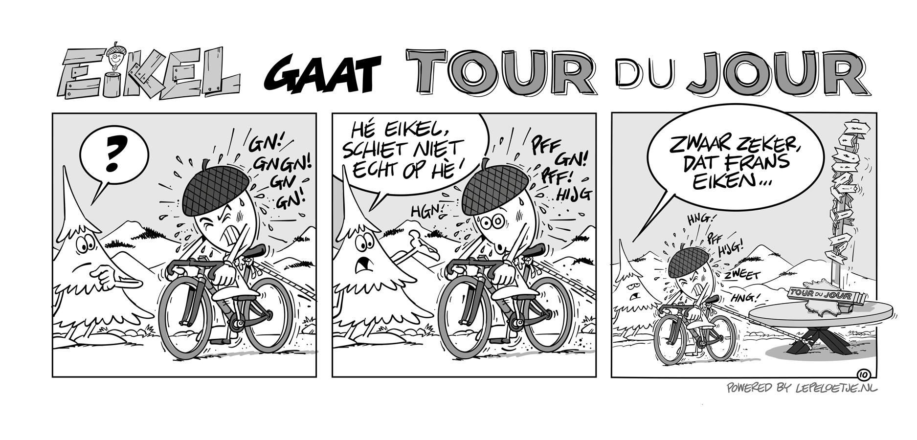 Eikel bij Tour du Jour