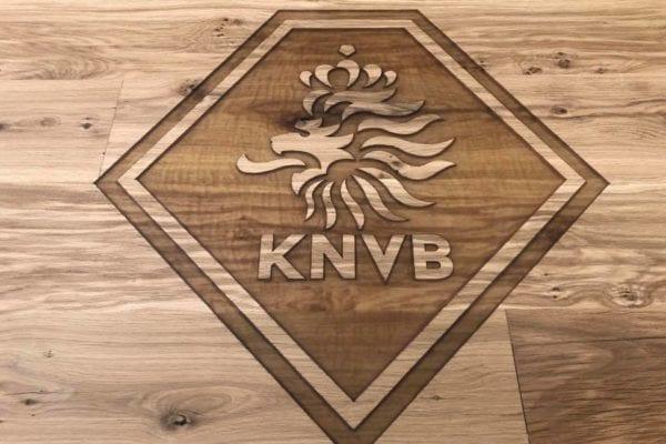 Tafel met logo